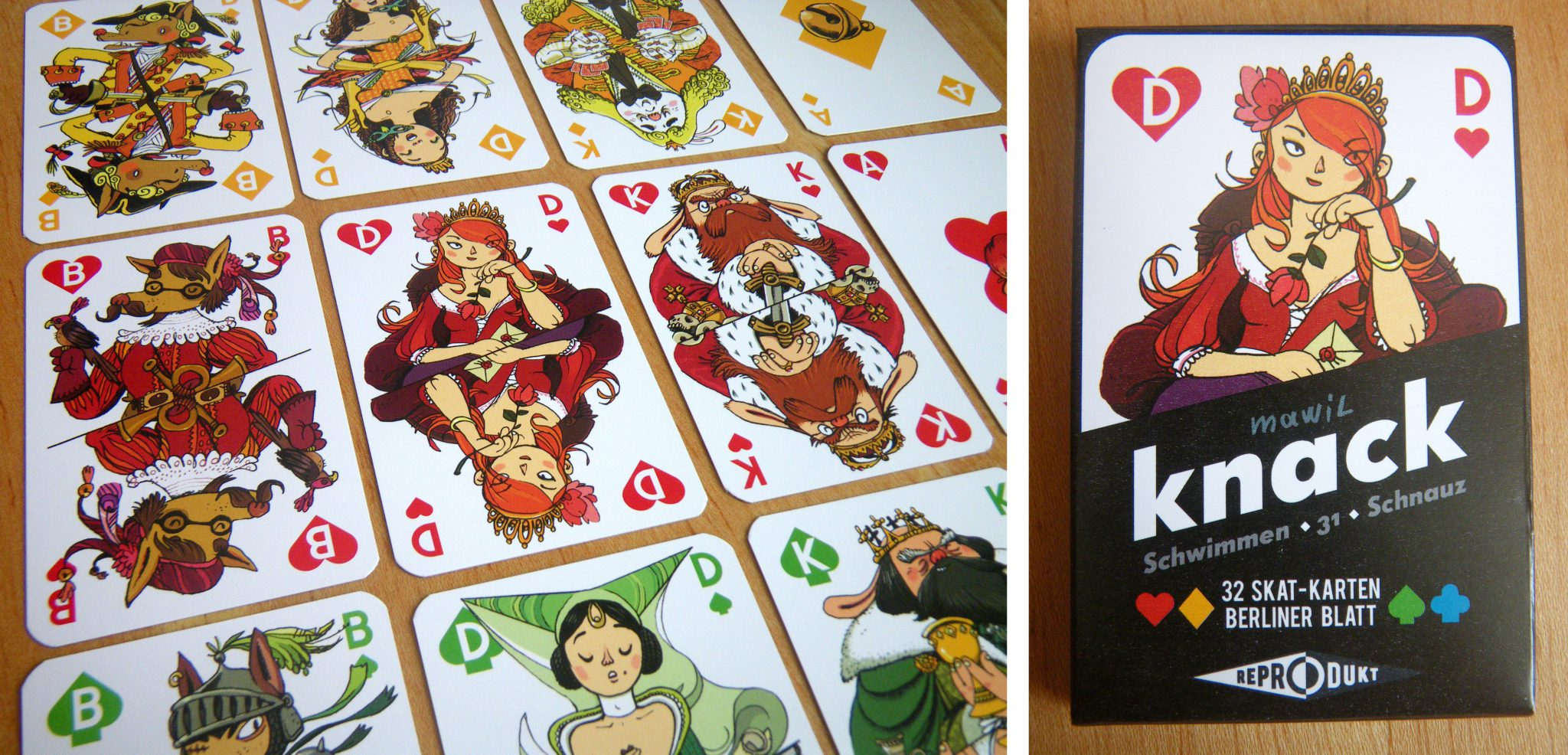 Kartenspiel Knack Spielen