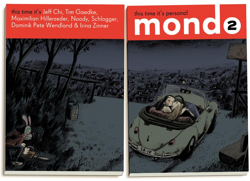 Mawil Mondo 2 cover comic