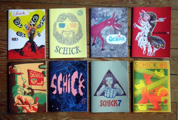 schick 1-8 leipzig comic workshop forum junger kunst deutsch französisch leipzig yassine mawil