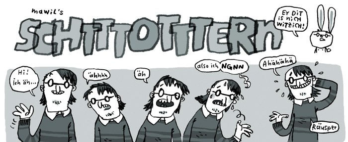 mawil stottern comic