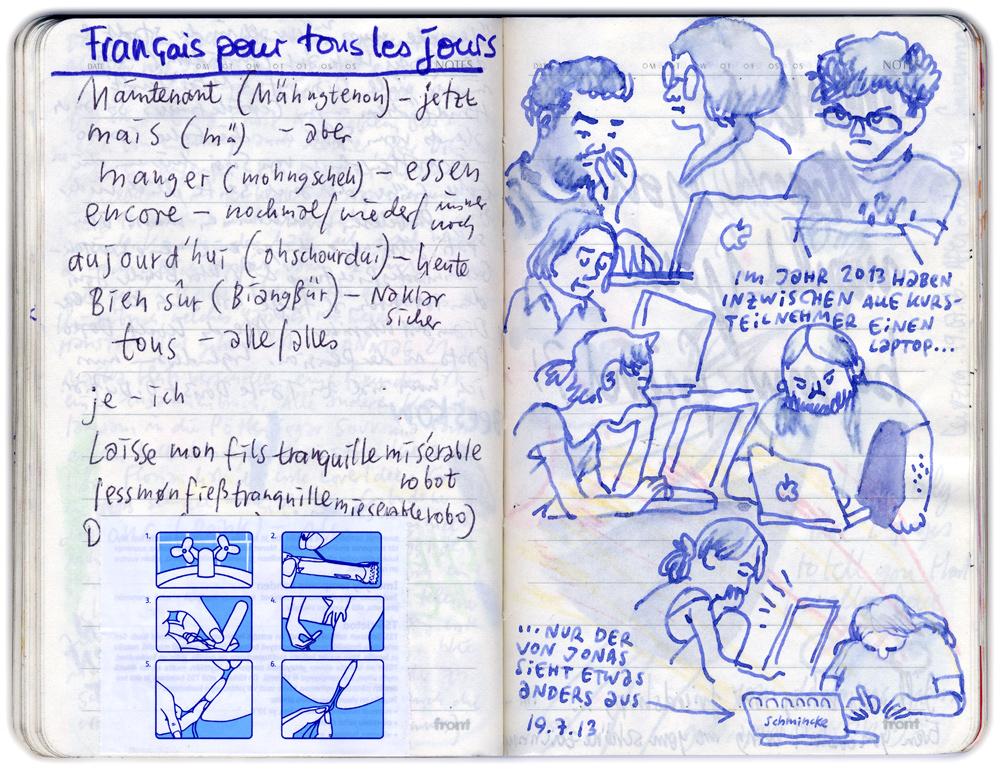 comic workshop leipzig skizze mawil