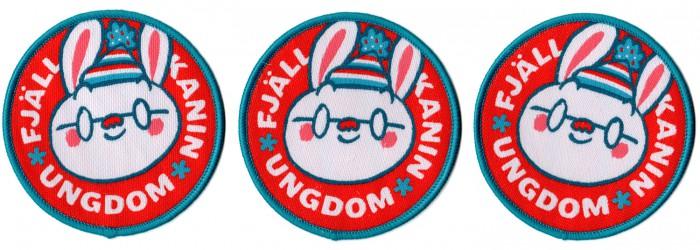 fjäll kanin ungdom FKU mawil patch