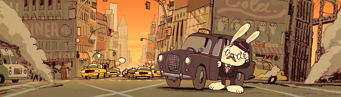 mawil comics comix mawil.net website english englisch american englishman in new york cab taxi super hasi super bunny