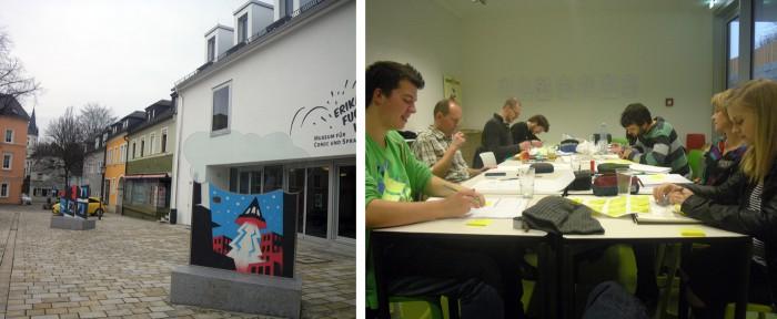 schwarzenbach an der saale erika fuchs haus mawil workshop