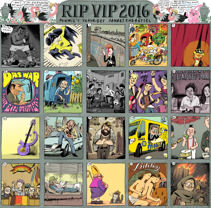 RIP VIP mawil 2016