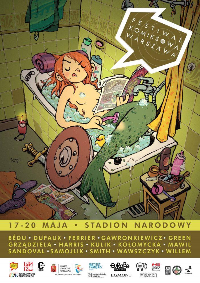mawil mermaid Festiwal Komiksowa Warszawa 2018